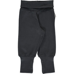 Maxomorra pants rib Black 86/92