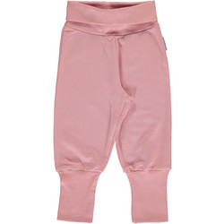 Maxomorra pants rib Dusty Pink 86/92