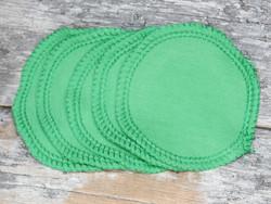 Pesulaput 5 kpl setti trikoo vihreä MINI