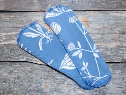 Normaaliside trikoo SENSITIVE kasvio sininen