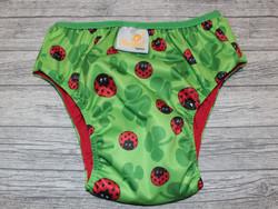 XL 15+ kg Royalkestot kuivaksiopetteluhousut ladybug coolmaxilla