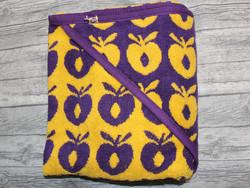 Småfolk huppupyyhe omena keltainen