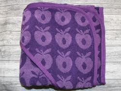 Småfolk huppupyyhe omena violetti
