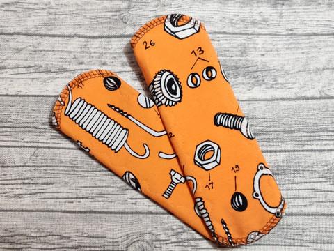 Pikkuhousunsuoja trikoo SENSITIVE mutterit oranssi