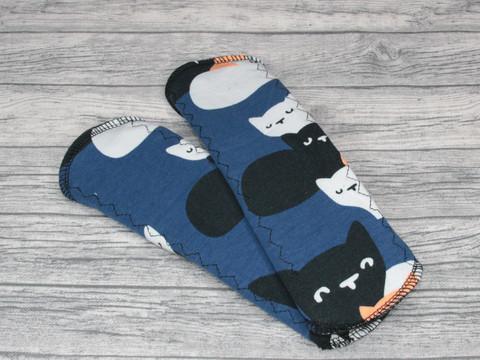 Normaaliside trikoo SENSITIVE kissapesue sininen