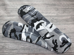 Yöside joustocollege SENSITIVE Camo harmaa
