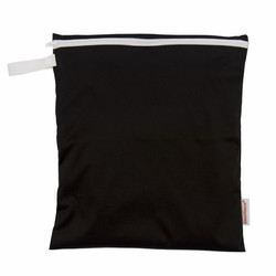 Imse Vimse BIGGER wet bag Black 28x25 cm
