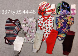 Pakkaus tyttö koko 48 nro 337