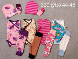 Lisäpakkaus tyttö koko 48 nro 339