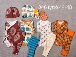 Lisäpakkaus tyttö koko 48 nro 346