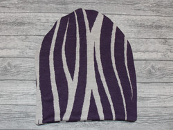 Pipo merinovillaa Kaisla violetti L 50-56 cm