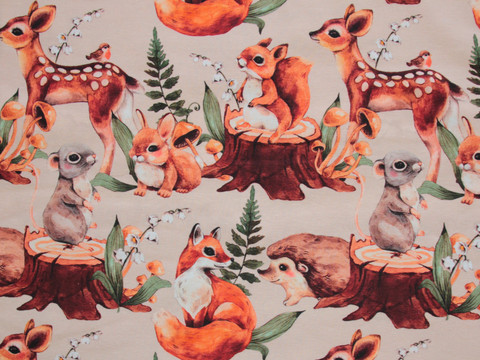 Trikoo Cute Forest Animals Nude