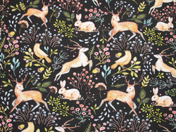 Trikoo Flowers and Forest Animals