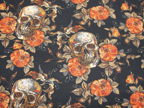 Trikoo Skulls and Roses