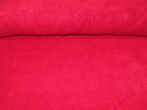 Bambujoustofrotee punainen per 10 cm