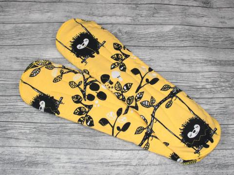 Yöside trikoo SENSITIVE Keinumassa keltainen
