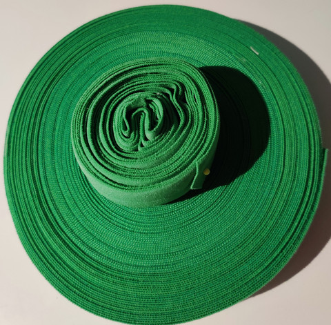 Joustokanttinauha vihreä per 10 cm