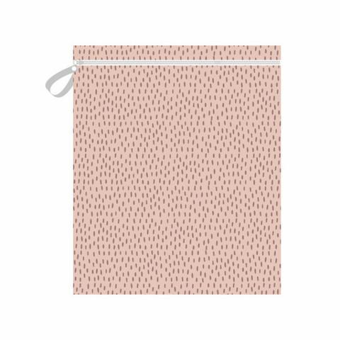 Imse Vimse vaippapussi 45x35 cm vetoketjulla Pink Sprinkle