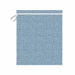 Imse Vimse vaippapussi 45x35 cm vetoketjulla Blue Sprinkle