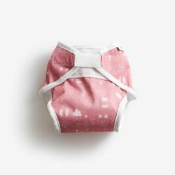 Imse Vimse Soft vaippakuori Rusty pink Teddy L 11-16 kg