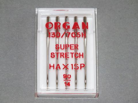 Ompelukoneen neula Organ 130/705H HAX1SP 90/14, 5/pak