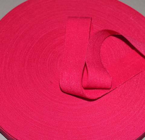 Joustokanttinauha vadelmanpunainen per 10 cm