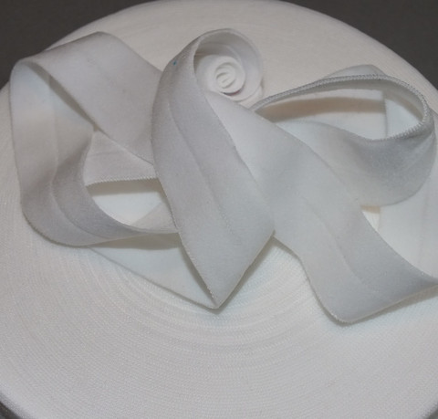 Joustokanttinauha valkoinen per 10 cm