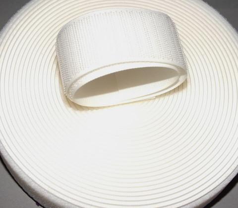 Tarranauha Aplix 38 mm valkoinen lenkki per 10 cm