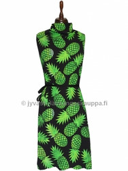 Pineapple green digiprintti trikoo per 10 cm ***