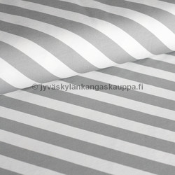 Diagonal stripes light grey digiprintti trikoo per 10 cm ***