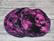 Pesulaput 5 kpl setti joustocollege pääkallo violetti