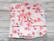Kestoarkki, nenäliina 22x16 cm 3 kpl setti trikoo kirsikankukka pinkki