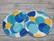 Liivinsuojat coolmaxilla basic 1 pari Blue dots