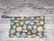 Royalkestot pikkupussi vetoketjulla 25x14 cm Eläinpäät harmaa