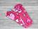 Normaaliside BASIC flanelli Sydän pinkki