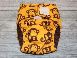 Royalkestot 1-koon taskuvaippa Apinat coolmaxilla