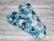 Normaaliside trikoo SENSITIVE Kukkaset sininen