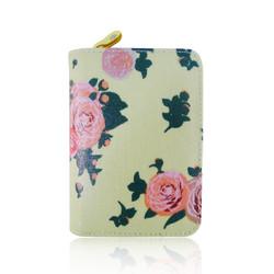 Lompakko, Midsummer Roses Lightest Green