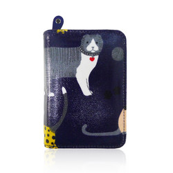 Lompakko, Cute Cats Midnight Blue