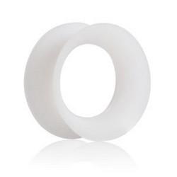 Tunneli 8mm, Thin Silicone in White