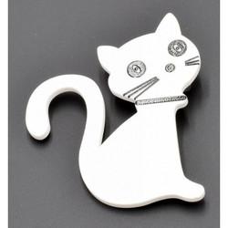 Rintaneula, Kissa (valkoinen)