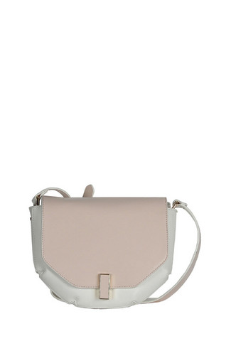 Laukku, BESTINI| Small Color Blogs Handbag in Nude (vaalea käsilaukku)
