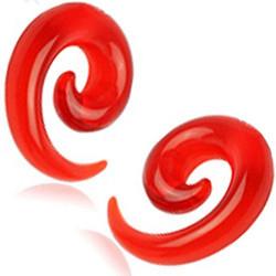 Venytyskoru, spiraali punainen 14mm