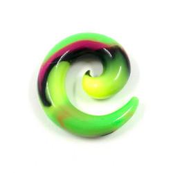 Venytyskoru, spiraali Greenmonster 10mm (silikoni)