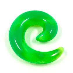 Venytyskoru, spiraali Green 8mm (vihreä)