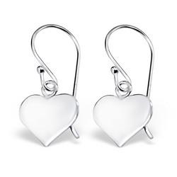 Hopeiset korvakorut, MINIMALISM/Mini Heart