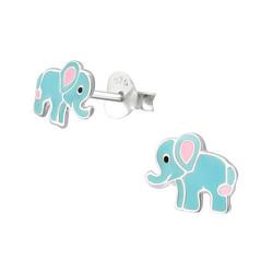 Hopeiset korvanapit, Sininen elefantti