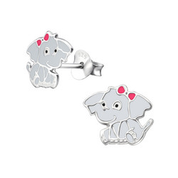 Hopeiset korvanapit, Elefantti