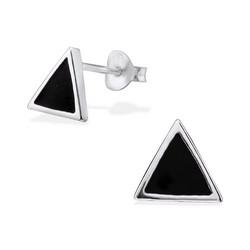 Hopeiset korvanapit, Basic Black Triangle (musta kolmio)