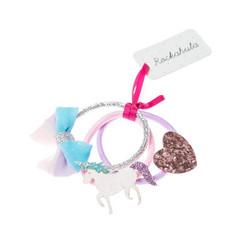 Hiuskoru/pompula, Rockahula KIDS|Unicorn Glitter Ponies
